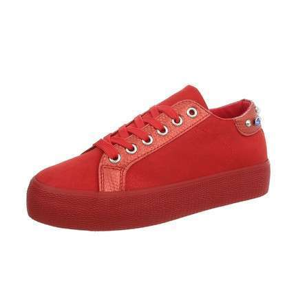 Damen Sneakers low - red