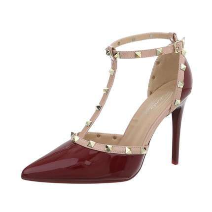 Damen High Heels Pumps - prune