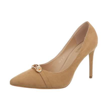 Damen High Heels Pumps - camel