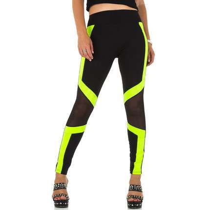 Damen Leggings von Holala - neonyellow