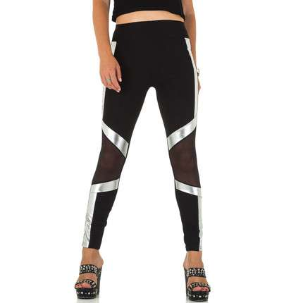 Damen Leggings von Holala - silver