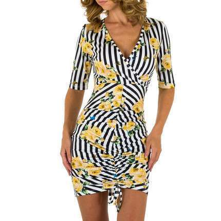 Damen Kleid von Emma&Ashley - yellow
