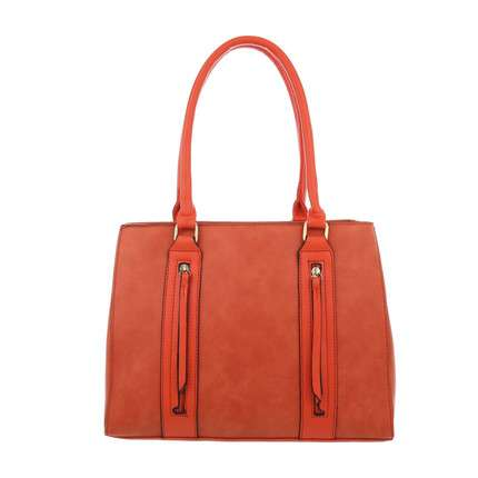 Damen Schultertasche-orange