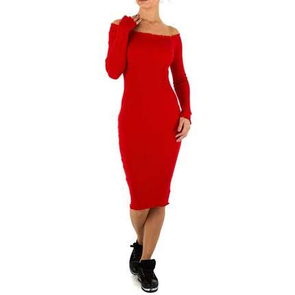 Damen Kleid von Emmash Gr. one size - red