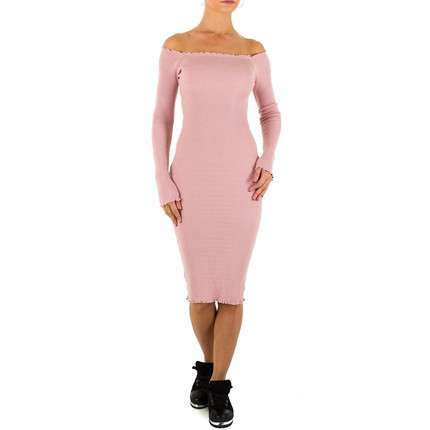 Damen Kleid von Emmash Gr. one size - rose