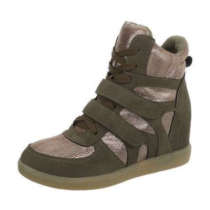 Damen Sneakers high - DK.green