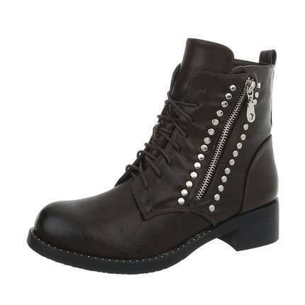 Damen Schnürstiefeletten - brown