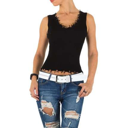 Damen Top - black