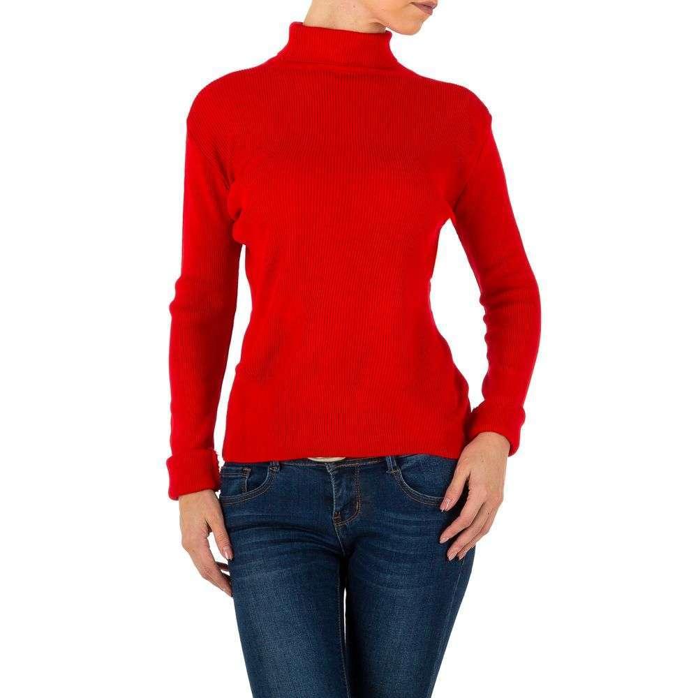 Pulover de dama de la Milas Gr. o singură mărime - roșu - image 1