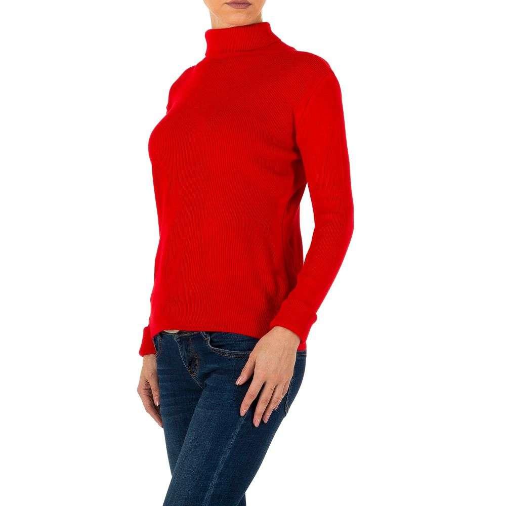 Pulover de dama de la Milas Gr. o singură mărime - roșu - image 2
