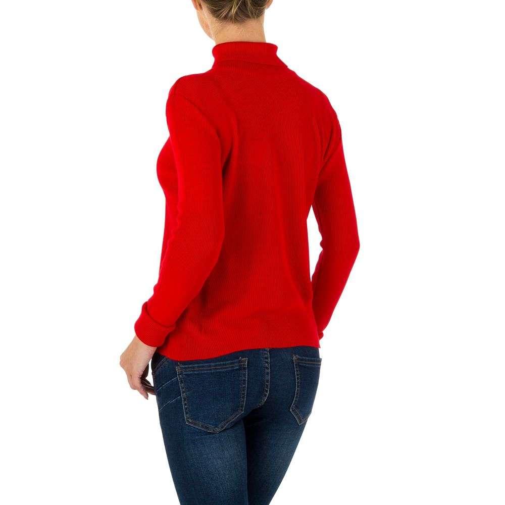 Pulover de dama de la Milas Gr. o singură mărime - roșu - image 3