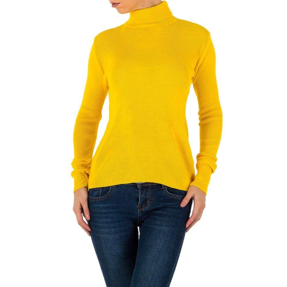 Pulover de dama de la Milas Gr. o mărime - galben