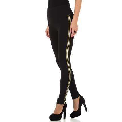 Damen Leggings von Holala Gr. one size - blackgold