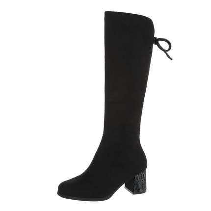 Damen High Heel Stiefel - black