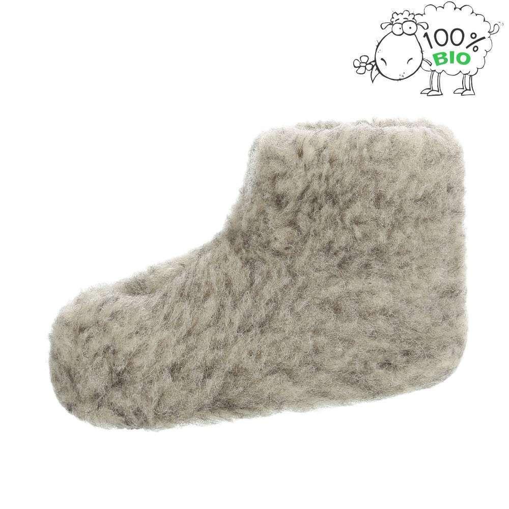 Papuci de miel ecologici pentru copii - gri