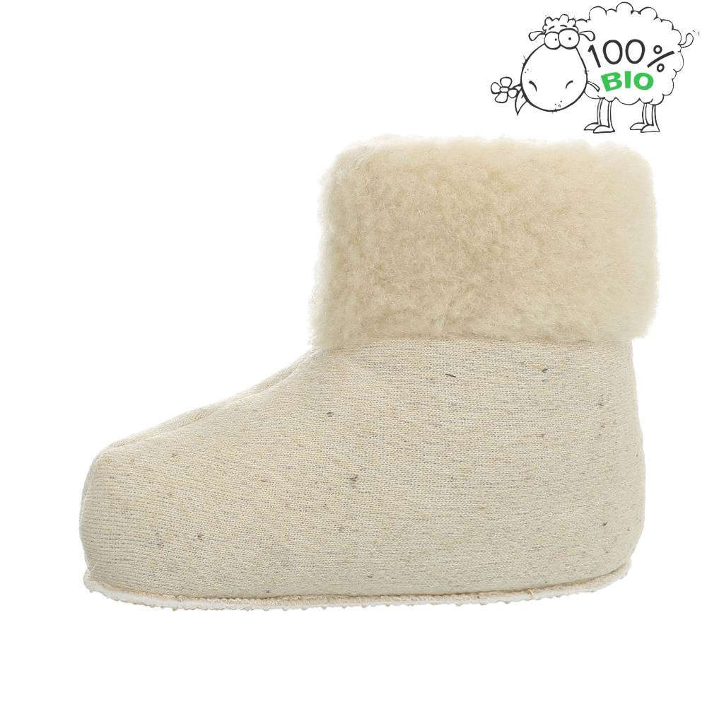 Papuci de miel bio - albi