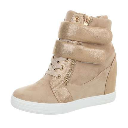 Damen Sneakers high - khaki