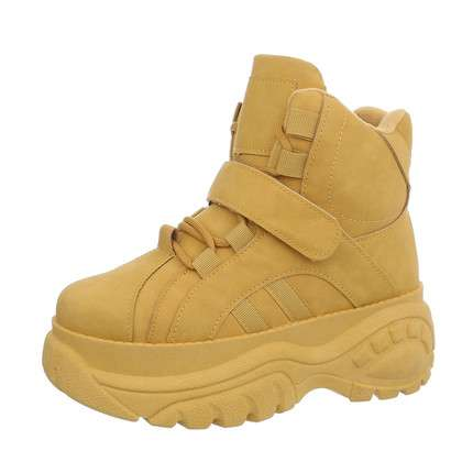 Damen Sneakers high - yellow