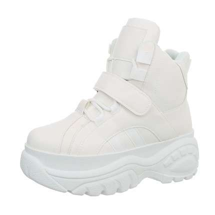 Damen Sneakers high - white