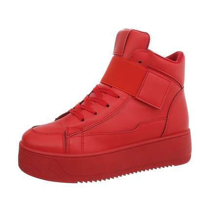 Damen Sneakers high - red