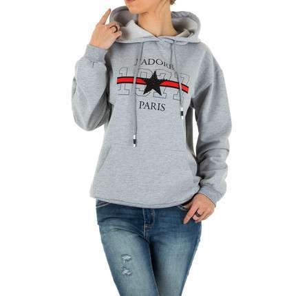 Damen Sweatshirt - grey