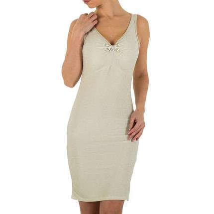 Damen Kleid - cream