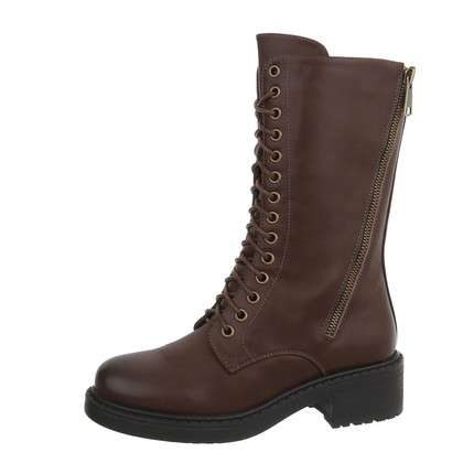Damen Schnürstiefel - brown