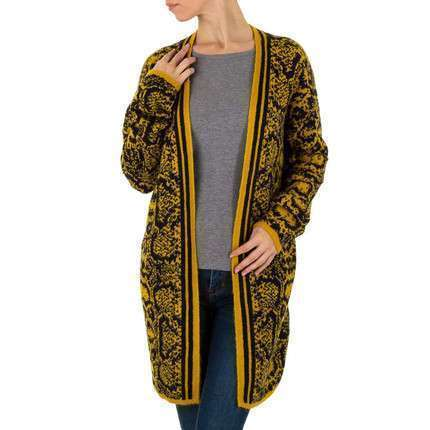 Damen Mantel von SHK Paris Gr. One Size - yellow