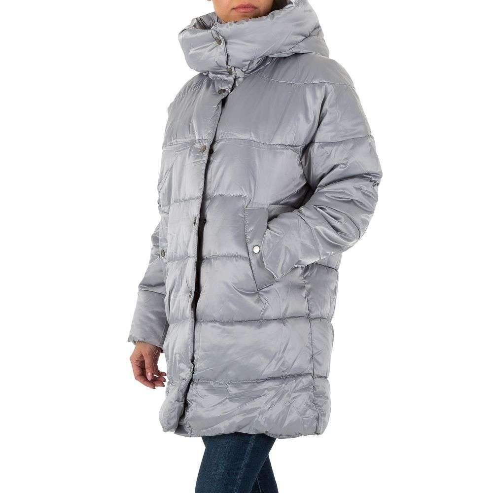 Palton pentru femei - gri - image 2