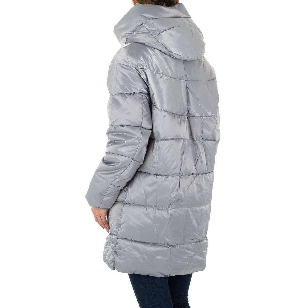 Palton pentru femei - gri - image 3