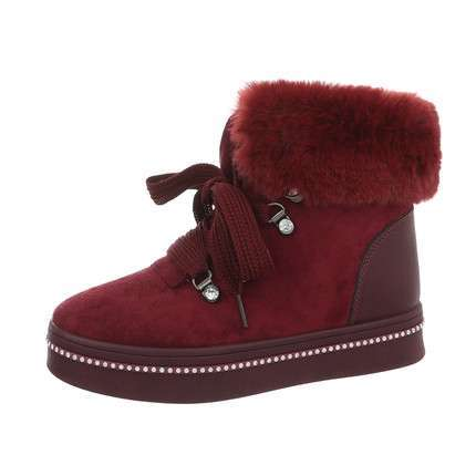 Damen High-Sneakers - winered