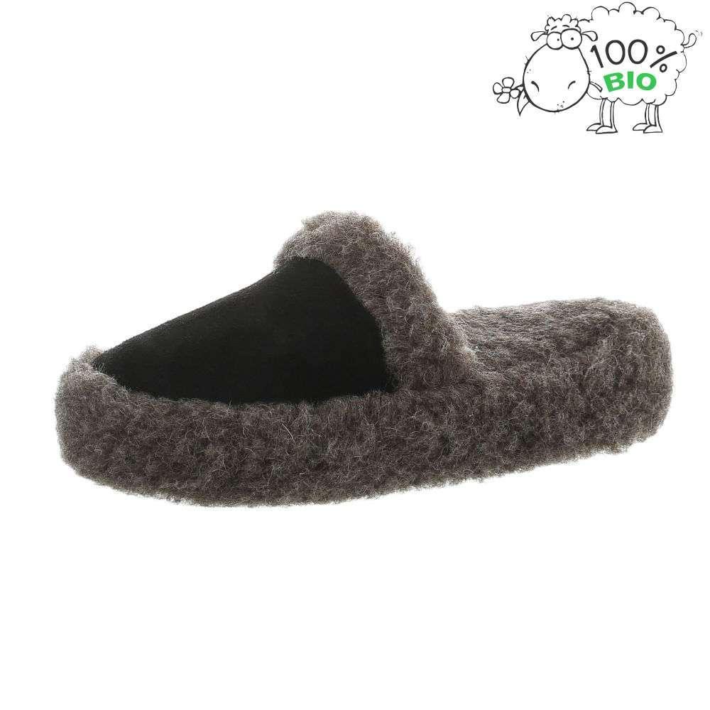 Papuci de miel ecologici pentru femei - negri