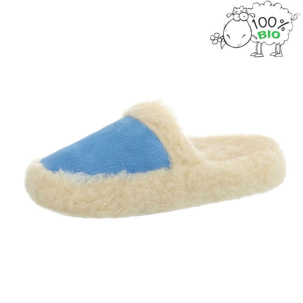 Papuci de miel bio pentru femei - L. albastru