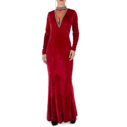 Damen Kleid - winered