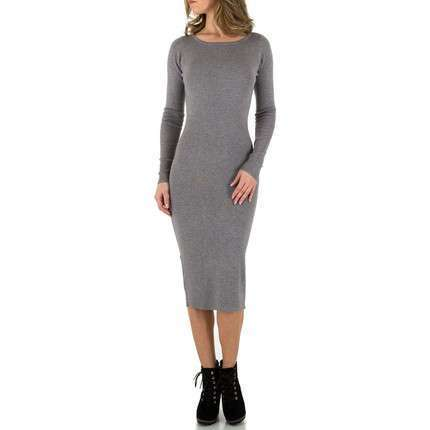 Damen Kleid von Voyelles Gr. One Size - grey
