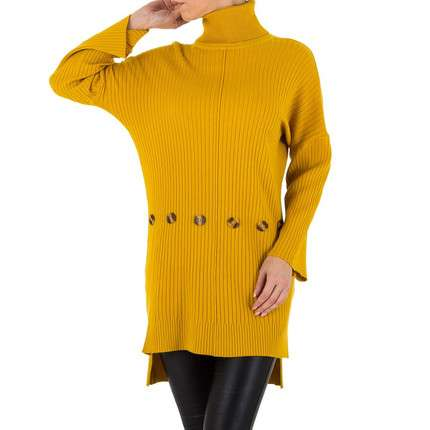 Damen Pullover von SHK Paris Gr. One Size - yellow