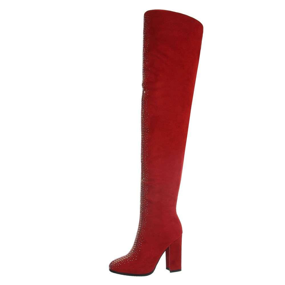 Cizme de damă - roșii