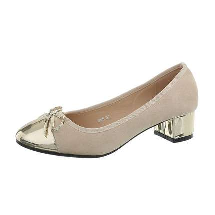 Damen Klassische Pumps - cream