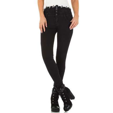 Damen Jeans von By Sasha - black