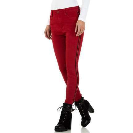 Damen Jeans von By Sasha - red