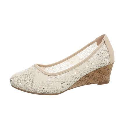 Damen Keilpumps - gold