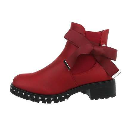 Damen Chelsea Boots - darkred