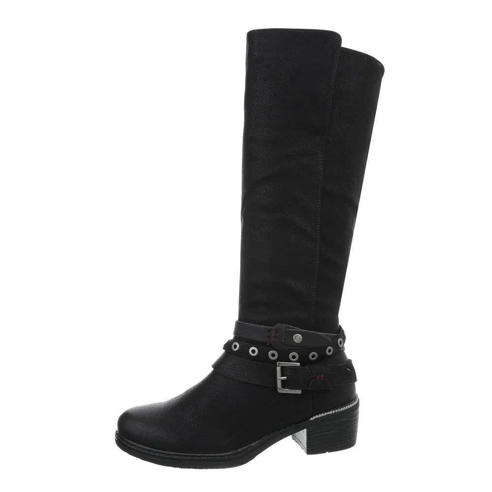 Cizme de damă clasice - negre