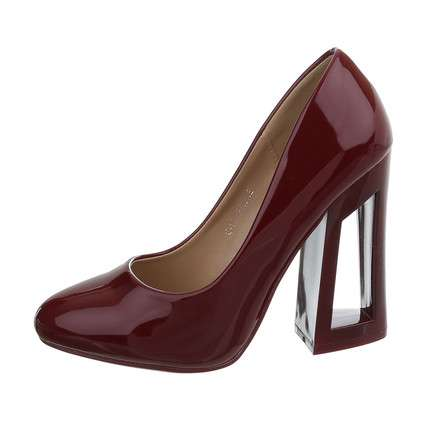 Damen High-Heel Pumps - prune