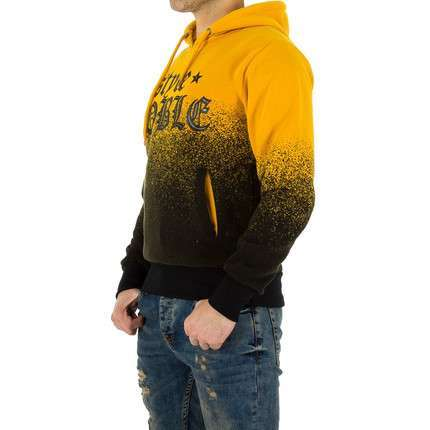 Herren Sweatshirt von Urban Boy - yellow