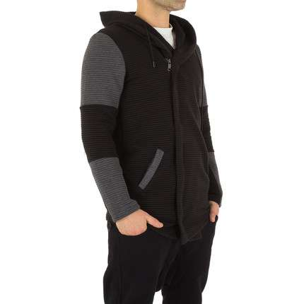 Herren Sweatjacke von Uniplay - black