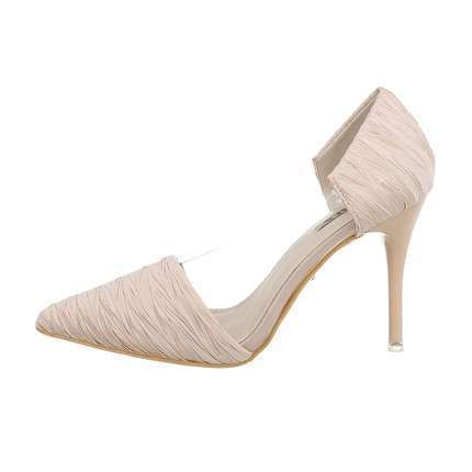 Damen High-Heel Pumps - beige