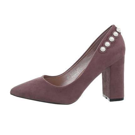 Damen High-Heel Pumps - purple