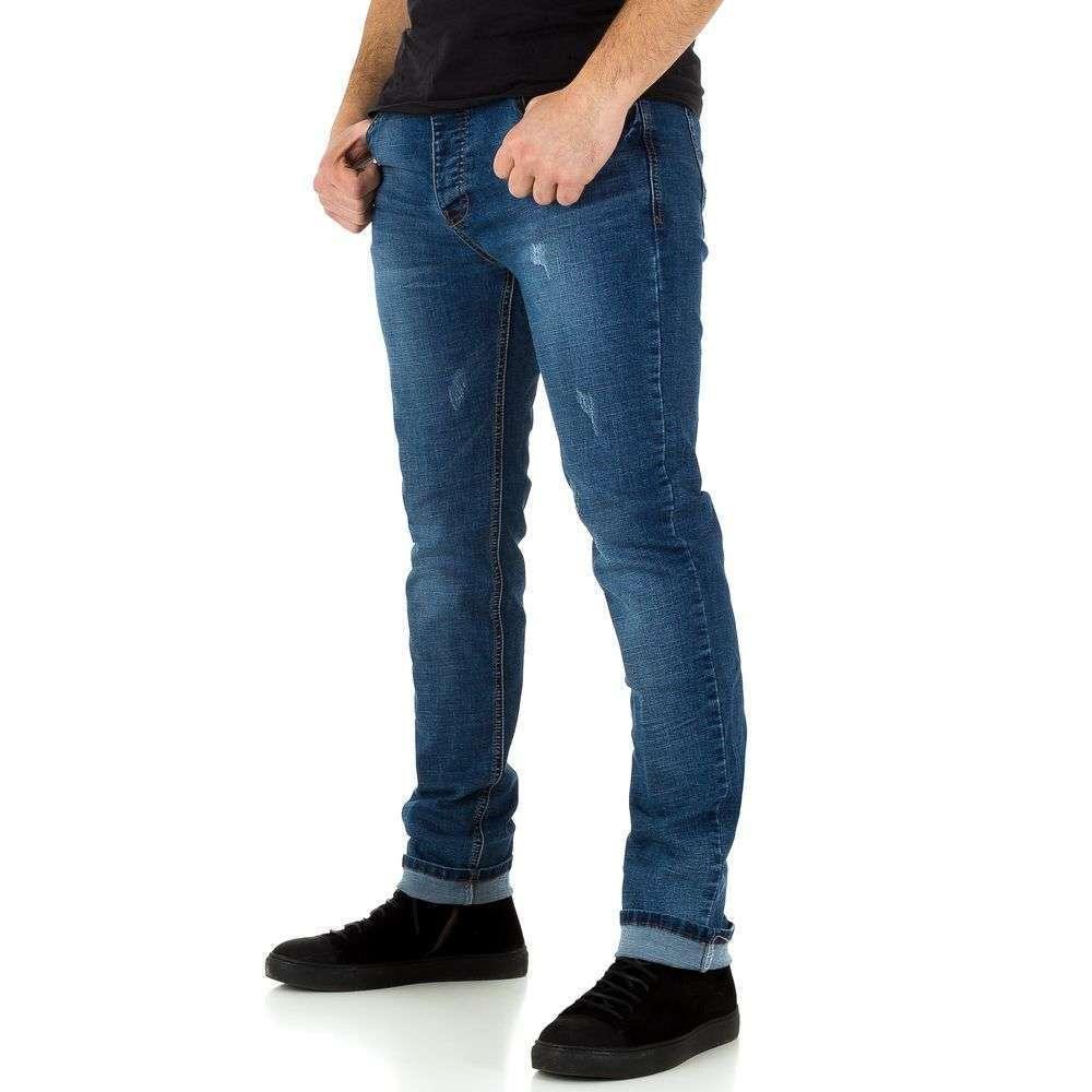 Blugi pentru bărbați marca Edo Jeans - albastru