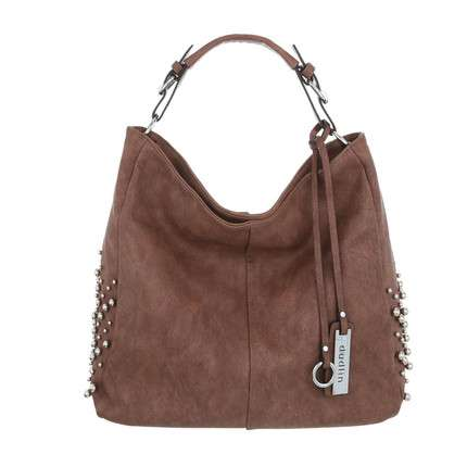 Damen Shopper-taupe